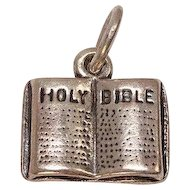 Bible Mixed Metal Charm