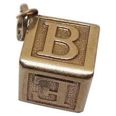 Sterling Alphabet Blocks Sterling Charm
