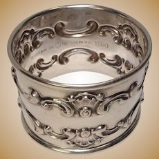 Gorham Sterling 1150 Napkin Ring