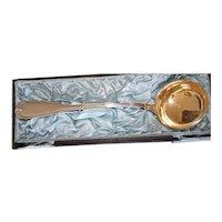 1898 Koch & Bergfeld 800 Silver Large Punch or Soup Ladle