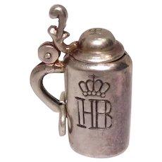 Vintage Hof Brau House Stein Mechanical Charm