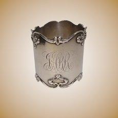 Sterling Art Nouveau Napkin Ring