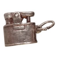 Vintage Lighter Sterling Charm