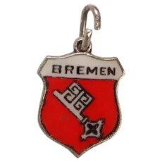Bremen Germany Travel Shield Charm
