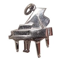 Signed Wells Piano Sterling Charm