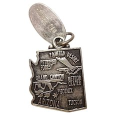 Hoover Dam Arizona State Sterling Charm