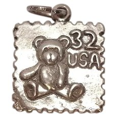 Sterling 32 Cent Stamp Charm