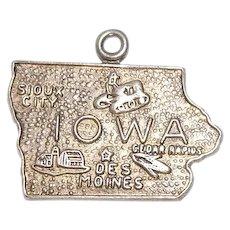 Sterlng Iowa State Charm