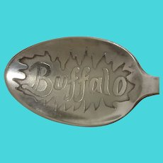 Buffalo New York Demitasse Souvenir Spoon