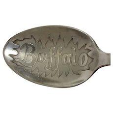 Buffalo New York Demitasse Souvenir Spoon