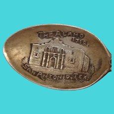 The Alamo 1718 San Antonio Texas Souvenir Spoon