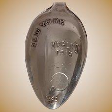 1940 New York Worlds Fair Statue of Liberty Souvenir Spoon