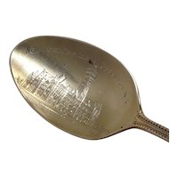 New Post Office Buffalo New York Sterling Souvenir Spoon