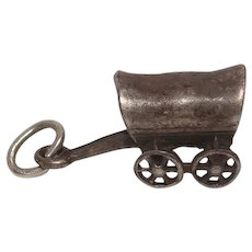 Covered Wagon Sterling Charm