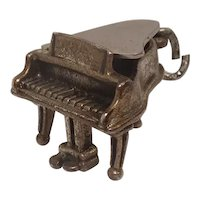 Signed Beau Piano Sterling Charm