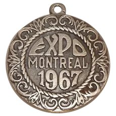 Vintage Montreal Expo 1967 Sterling Charm