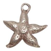 Sterling Starfish Charm
