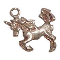 Sterling Unicorn Charm