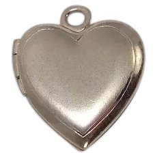 Heart Picture Locket Charm