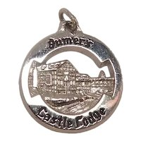Signed Jumer's Castle Lodge Sterling Travel Charm
