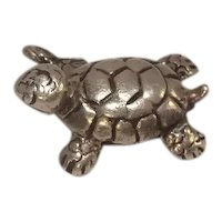 Turtle Sterling Charm
