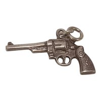 Vintage Pistol Charm