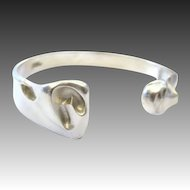 Lapponia Silver, Sterling bracelet by Björn Weckström Finland c 1984