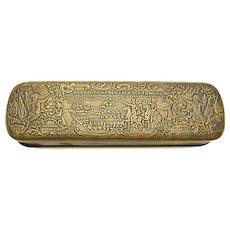 Gorgeous Iserlohn tobacco box signed Giese