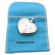 Authentic Tiffany Co Perfume Bottle with Original Blue Pouch