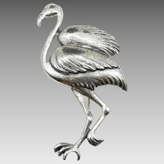 Danecraft Sterling Silver Large Standing Bird Brooch