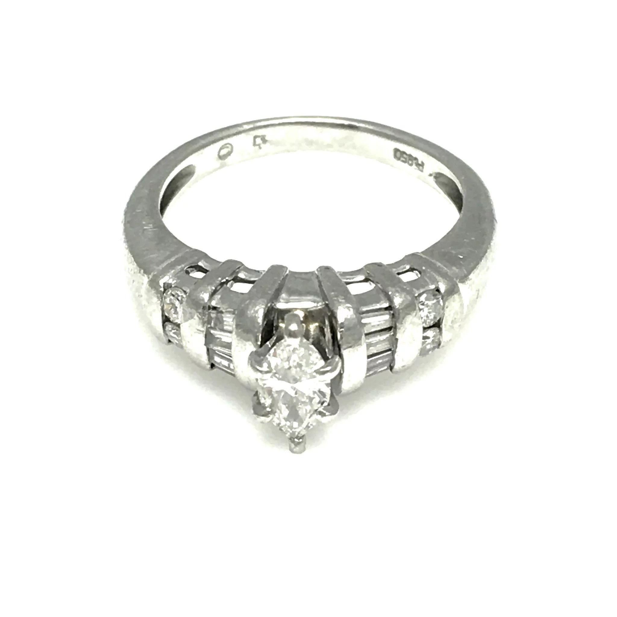 fetheray handmade platinum cut engagement ring products hand and rubover rings diamond solitaire