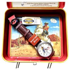 Lone Ranger Limited Edition Fossil Wrist Watch Set 1994
