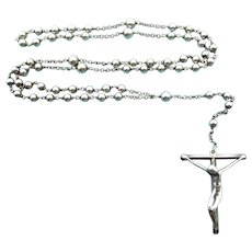 Tiffany & Co. Sterling Silver Elsa Peretti Rosary