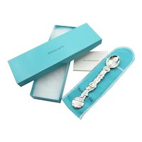Tiffany  Co Sterling Silver 3 Circus Bears Baby Spoon, Dust Bag, Box
