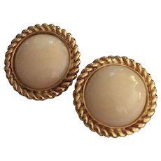 14k Elegant & Superb Quality Angel Skin Coral Earrings
