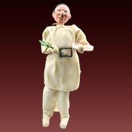 Vintage 1950s Oculist Doll By Mario Roldan Klumpe Style Optometrist Eyes Creepy