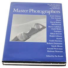 Vintage 1983 Master Photographers Hardcover Coffee Table Book 1st American Ed.