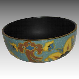 Art Deco Gouda Style Ceramic Bowl