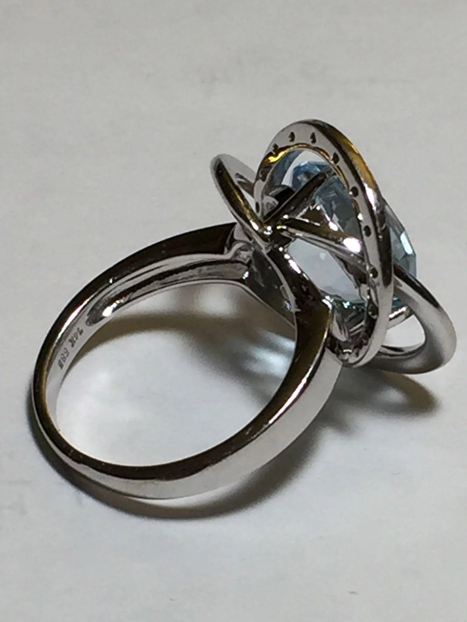 ring overstock sterling shipping free product tdw today watches infinity cambridge knot diamond silver jewelry love
