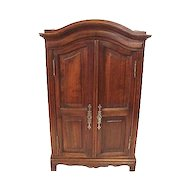 Miniature French Louis XV Style Armoire C 1900