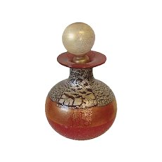 Vintage Italian Art Glass Perfume Bottle