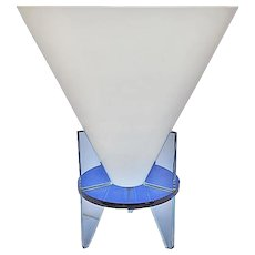 Vintage Modern Glass Lamp