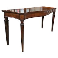 Rare Eighteenth Century American Mahogany Console Table