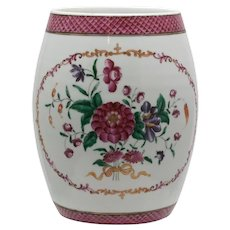 18th Century Chinese Export Porcelain Handled Cup