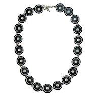Fabulous Vintage NE From Denmark Sterling Silver Necklace