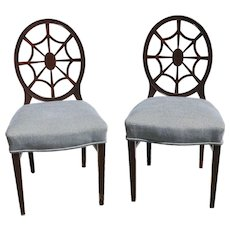 Set Of Six George III Neoeclassical Style Dining Chairs