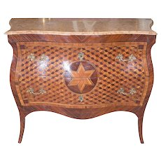 Eighteenth Century Italian Parquetry Chest