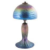 Vintage Lundberg Studios Art Glass Lamp