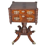 American Classical Style Mahogany Work Table