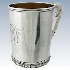 Tiffany & Co. Sterling Silver Handled Cup c. 1897
